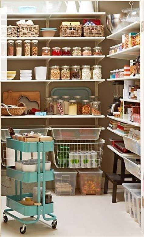 Smart Pantry by How To Organize Your Pantry 35 Easy And Smart Ideas
