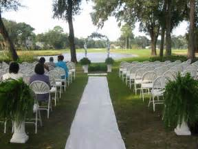 Outdoor Wedding Aisle Decorations Weddingbee by Decorating Not So Lovely Chairs For Ceremony Help