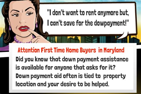 time home buyers grants and programs in maryland