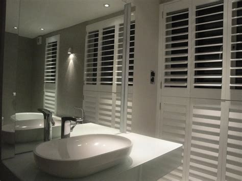 bathroom shutter blinds bathroom shutters west country shutters
