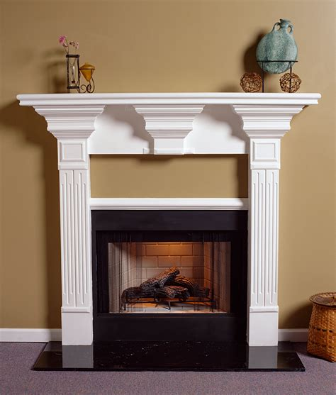Plaster Fireplace Surround by A Plus Inc Estate Series Plaster Mantels