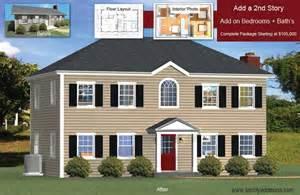Modular Raised Ranch Floor Plans add a floor convert single story houses
