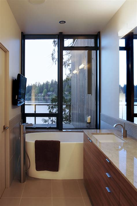 Modern Small Bathroom With Tub Freestanding Tub Bathroom Contemporary With Freestanding