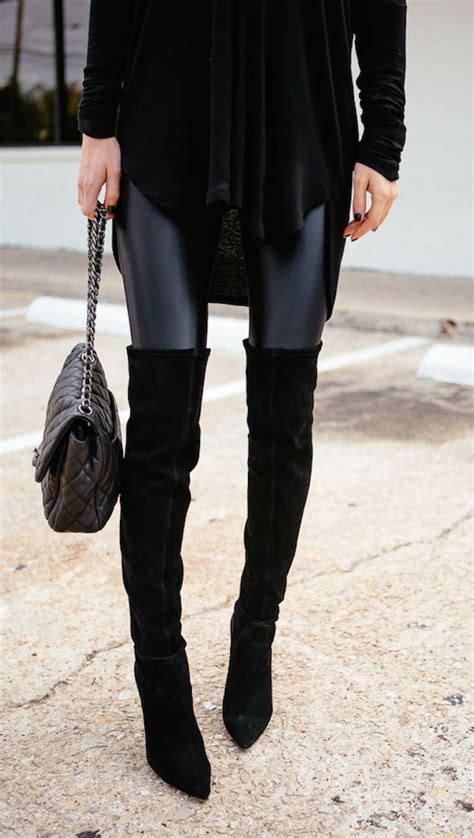 Zhoey Black High 25 best ideas about boots and on
