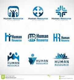 design resources human resources hr logo vector set design for business