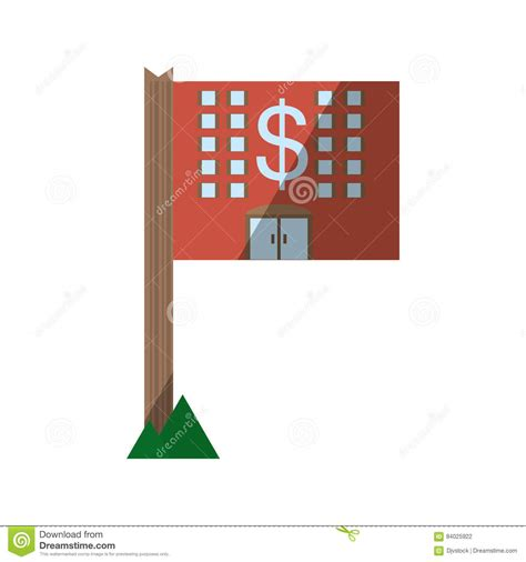 real estate house value real estate property value residential shadow stock illustration image 84025922