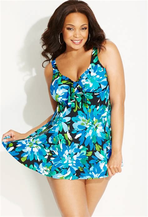 7 Gorgeous Plus Size Swimsuits by Plus Size Bloom Swim Dress Avenue Swim And Resort
