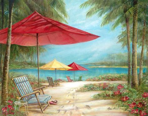 relaxing painting videos ruane manning relaxing paradise i painting relaxing paradise i print for sale