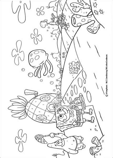 desenhos para colorir de bob esponja e seus amigos pt