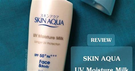 Pelembab Skin Aqua geminita review produk skin aqua uv moisture milk spf50