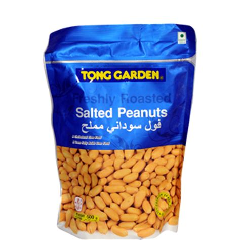 Tong Garden Salted Peanuts 400gr tong garden salted peanuts 500 g buy