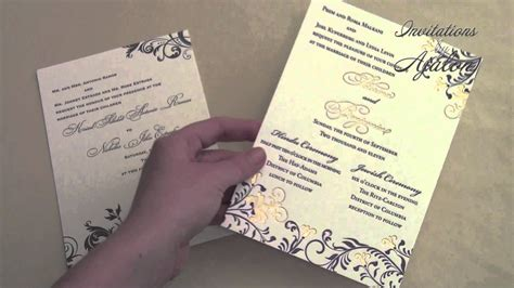 Wedding Invitations With Divorced Parents by Wedding Invitation Wording Divorced Parents