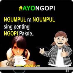 Bahasa Jawa dp bbm bahasa jawa ngopi lucu dan pp android bahasa jawa