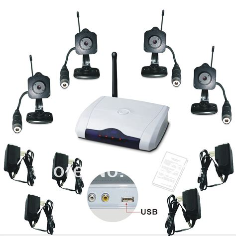 2 4g 4ch mini wireless home usb dvr cctv security