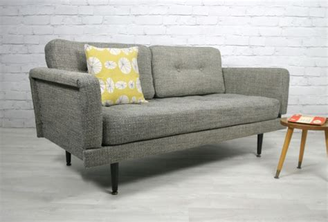 Retro Vintage Midcentury Danish Style Sofa Bed Daybed
