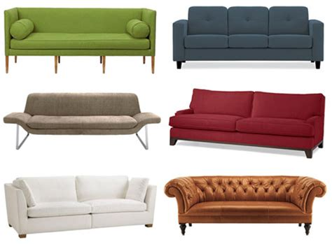 types of couches mad moose introduction to different types of sofas