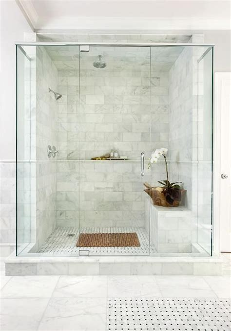 Marble Showers Bathroom 25 Best Ideas About Marble Bathrooms On Pinterest Marble Showers Carrara Marble And White