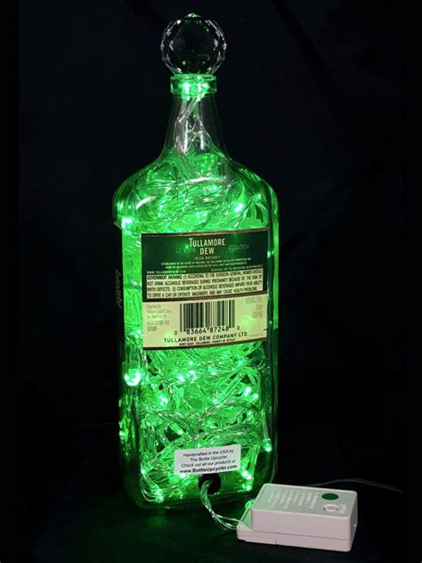 Mixing Light And Liquor by Upcycled Tullamore Dew Whiskey Mood Therapy Liquor