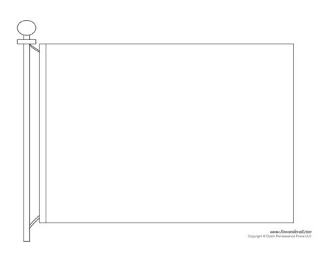 template blank flag template printable flags
