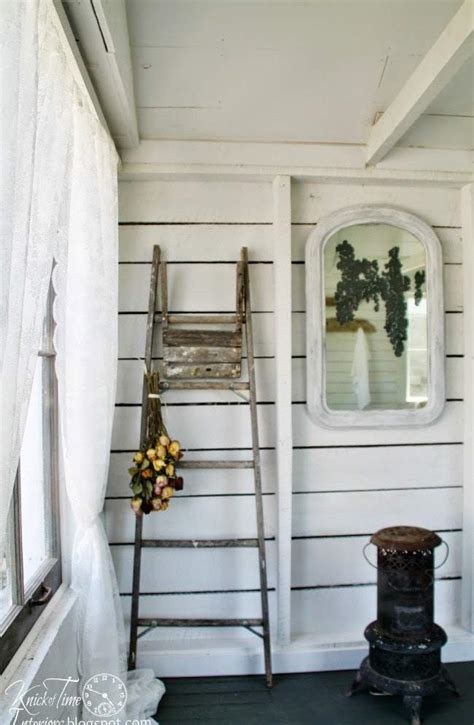 Cottage Home Plans guest cottage room reveal in an old farmhouse shed