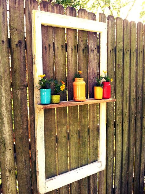 Decorate Your Fence by Easy Decoration For Your Fence Window Scrap Of