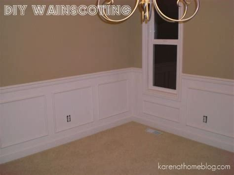 Wainscoting Measurements 25 Best Ideas About Faux Wainscoting On