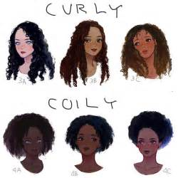 Types Of Wavy Hair by Eafuransu I Drew A Visual Hair Type Classification