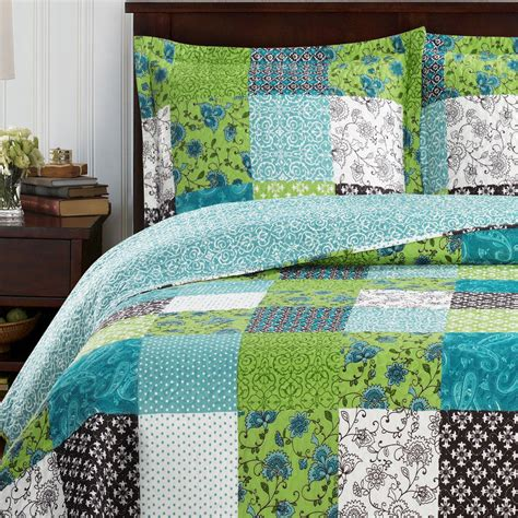 King Coverlets And Quilts king size rebekah oversized coverlet 3 pc set luxury microfiber printed quilt ebay