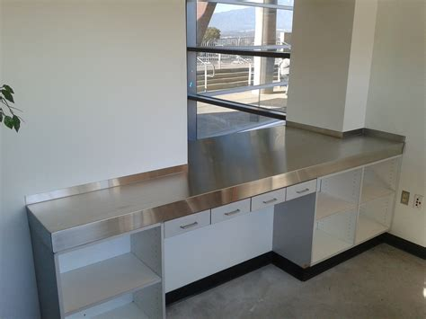 Stainless Steel Countertop Installation by Stainless Steel Project Photos