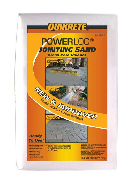 Quikrete Patio Paver Jointing Sand Quikrete Launches New Products
