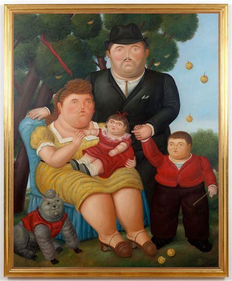 cuadro botero una familia autor botero fernando fernando botero 1