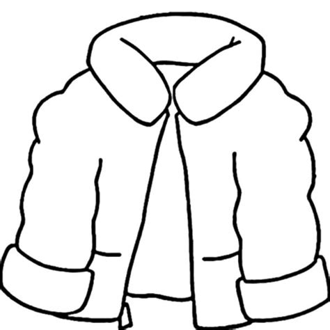 coloring page winter jacket coat for winter season coloring page coloring sky