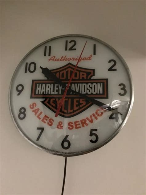 Vintage Retro Cooper Harley Metal Iron Table Clock Jam Meja vintage pam clocks for sale classifieds