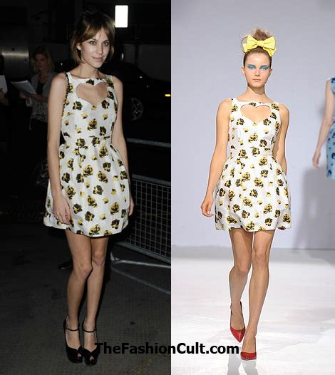 Who Wore Luella Better by Chung S Luella Dress Still Smells Of Runway The