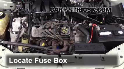 mercury sable fuse box layout wiring diagram