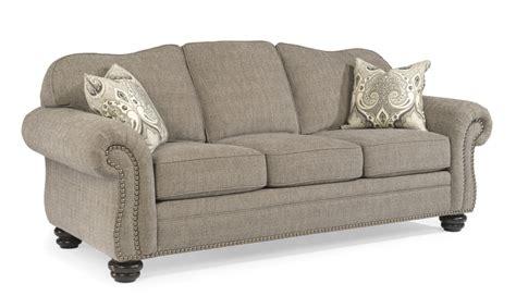 flexsteel bexley leather sofa flexsteel bexley jasen s furniture macomb michigan