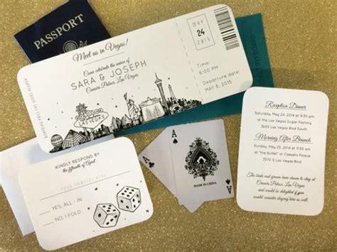 wedding dress box for plane las vegas skyline plane ticket wedding invitation