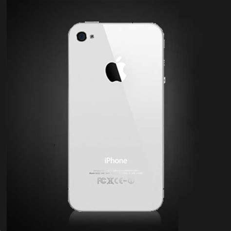White Glass Kitchen Appliances - apple iphone 4s back panel white