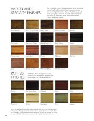 Mission Oak Sofa Issuu Standard Finish Options For Stickley Fine