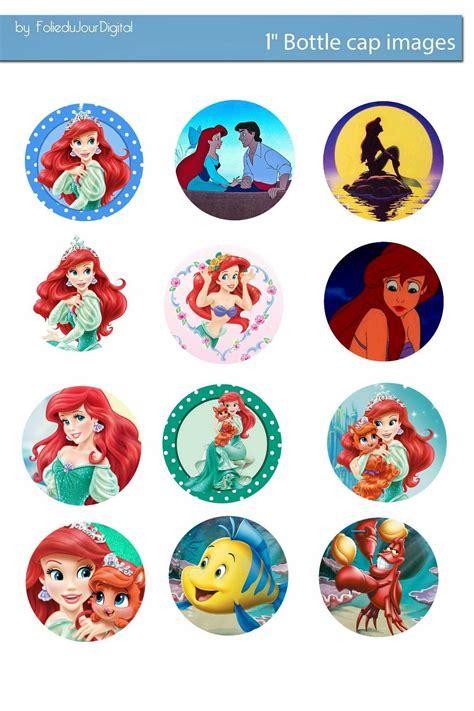 bottle cap images free bottle cap images ariel the mermaid digital