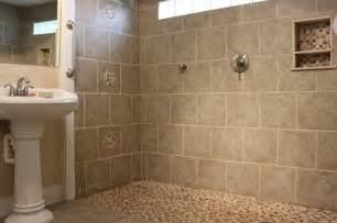 walk in tile shower no door walk in shower