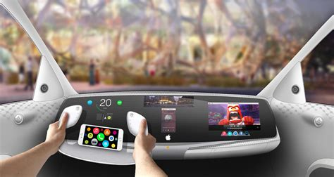 car dashboard upholstery is this the new apple car interior