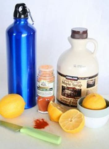 Detox Diet Lemon Juice Maple Syrup Cayenne Pepper by The Master Cleanse Reviewed Master Cleanse Cayenne