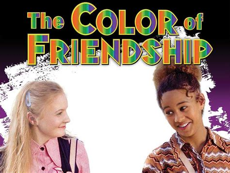 piper and mahree from dcom quot the color of friendship quot are