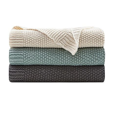 bed bath and beyond throws ink ivy bree knit throw blanket bed bath beyond