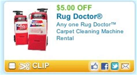 Rug Doctor Printable Coupon by Cleaning Carpets Rent A Rug Doctor Save 5 Plus Get Free