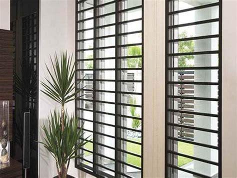 Rejas para ventanas modernas, Protecciones modernas