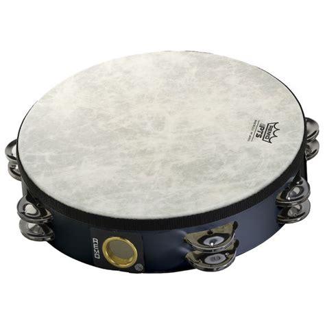 Tambourine Remo remo 10 quot pre tuned row tambourine black
