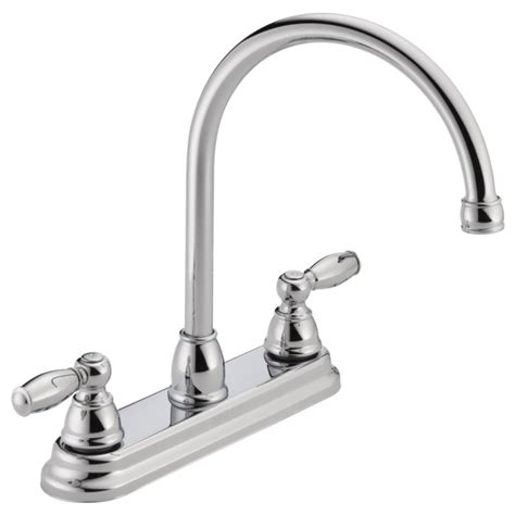 two handle kitchen faucet p299565lf two handle kitchen faucet