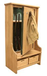 Bench Gun Safe The Bespoke Gun Cabinets Company Custom Gun Rooms